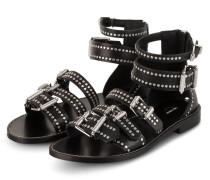Sandalen EVER mit Nietenbesatz - SCHWARZ