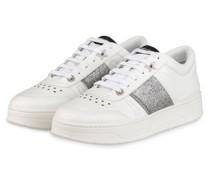 Plateau-Sneaker HAWAII F - WEISS/ SILBER