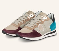 Sneaker TRPX - BEIGE/ DUNKELROT/ TÜRKIS