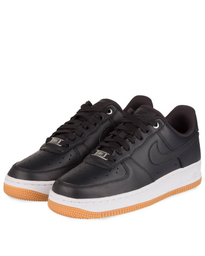 Sneaker AIR FORCE 1 '07 PREMIUM - SCHWARZ