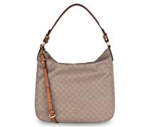 Hobo-Bag DINA - graubraun