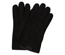 Lederhandschuhe CASUAL GLOVE - schwarz