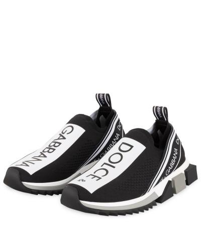 Slip-on-Sneaker SORRENTO - SCHWARZ/ WEISS