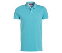 Poloshirt Slim-Fit - türkis