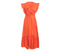 Kleid DYXYLI mit Volantbesatz