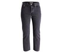 7/8-Jeans WEDGIE - that girl dark grey
