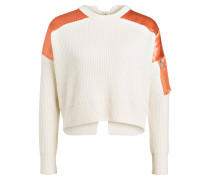 Cropped-Pullover MENPHIS - ecru/ apricot