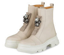 Plateau-Boots ELLA 1 mit Schmucksteinbesatz