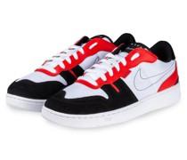 Sneaker SQUASH-TYPE - WEISS/ SCHWARZ/ ROT