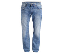 Jeans 3301 Straight-Fit - medium aged blue