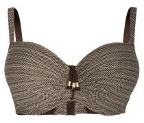 Bügel-Bikini-Top MAMBO - gold/ braun