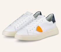 Sneaker TEMPLE - WEISS/ BLAU