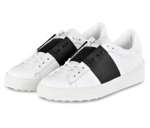 Sneaker OPEN - WEISS/ SCHWARZ