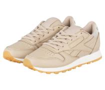 Sneaker CLASSIC LEATHER DIAMOND - beige