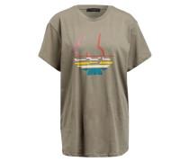 T-Shirt - khaki