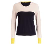 Pullover mit Cashmere-Anteil - sand/ navy