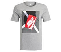 T-Shirt SHOEBOX - grau