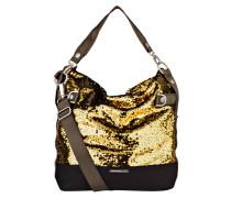 Hobo-Bag mit Pailletenbesatz