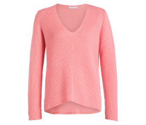 Strickpullover - rosa