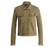 Jeansjacke EASY TRUCKER - khaki
