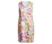 Kleid FRIEDA - pink/ grün/ weiss