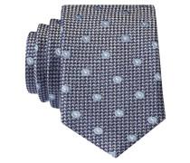 Krawatte - blau/ schwarz