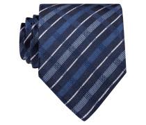 Krawatte - marine/ hellblau