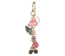 Schlüssel- und Taschenanhänger - gold