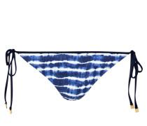 Bikini-Hose TIE DYE - blau