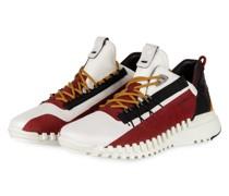 Sneaker ECCO ZIPFLEX M - WEISS/ ROT