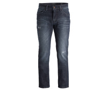 Destroyed-Jeans CADIZ Straight-Fit