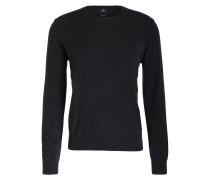 Cashmere-Pullover - dunkelgrau