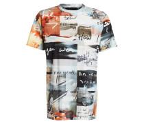 T-Shirt JETSON - natur/ grün/ orange