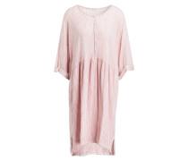 Kleid ROBE MANCHES - weiss/ rosé gestreift
