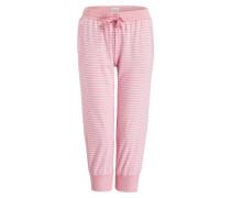 3/4-Loungehose - rosa
