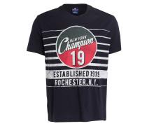 T-Shirt - navy/ weiss/ rot