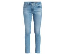 Skinny-Jeans THE LEGGING - crg hellblau