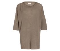 Pullover mit Leinenanteil