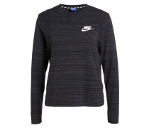 Sweatshirt ADVANCE 15 - schwarz meliert