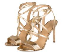 Sandaletten ANTOINETTE - pale gold