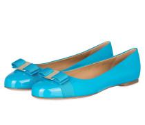 Lack-Ballerinas VARINA - blau