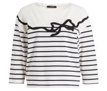 Sweatshirt CIVADA - creme/ weiss gestreift