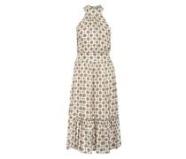Kleid mit Seide