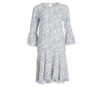 Kleid MANNA - weiss/ blau/ rot
