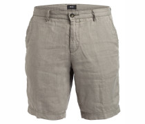 Leinen-Shorts CRIGAN Regular-Fit - gelb