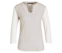 Shirt CHARLENE mit 3/4-Arm - sand