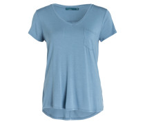 T-Shirt FOUNDATION - blau