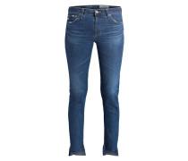 7/8-Jeans - mittelblau