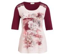 T-Shirt - rot/ hellrosa