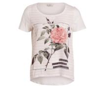 T-Shirt RHINA - weiss/ altrosa